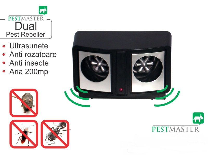 A319 DUAL Pest Repeller - Bidirectional - 200 mp