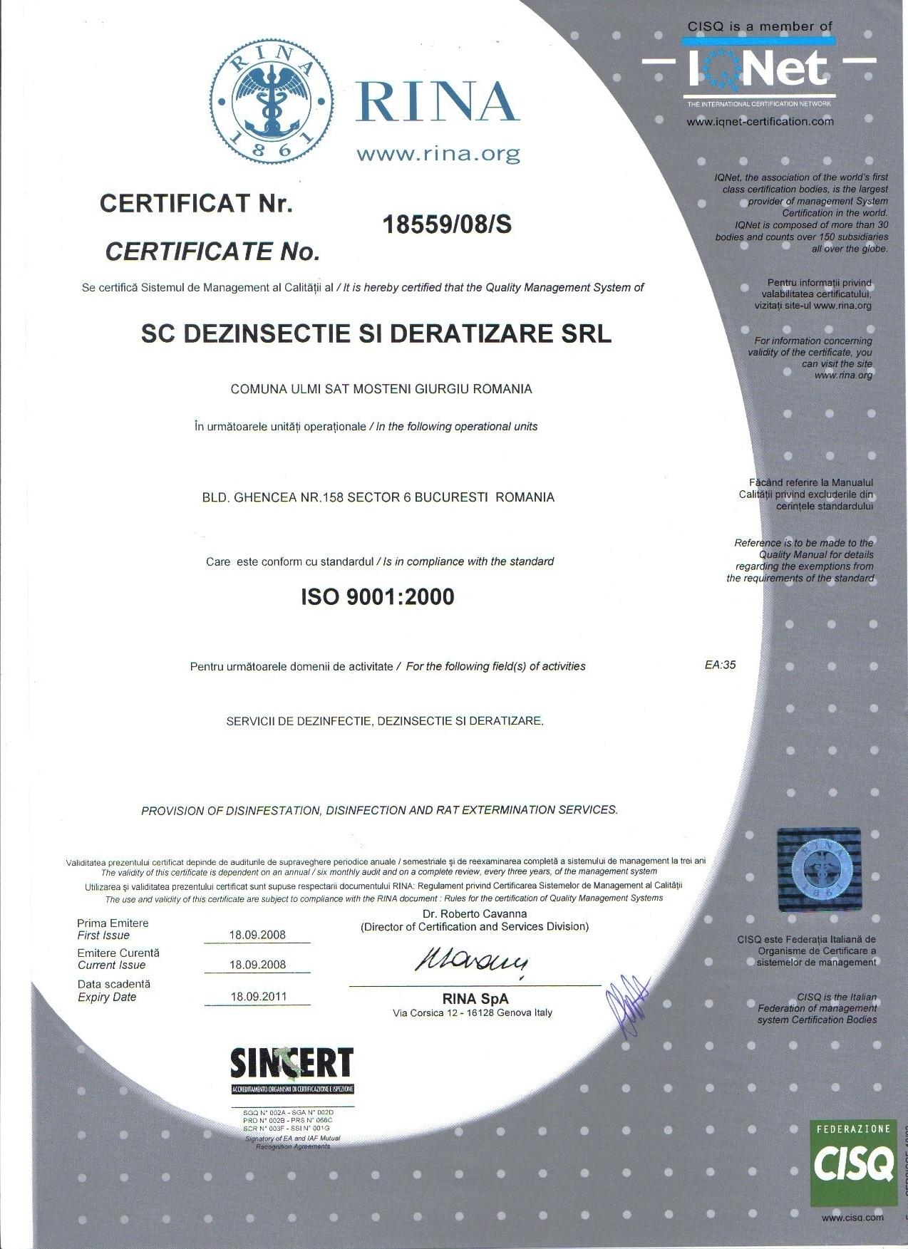 Standardul ISO 9001