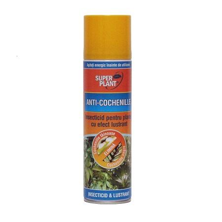 Insecticid pentru plante cu efect lustrant Anti-Cochenille Super Plant 250ml