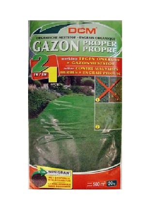 Fertilizant (2in1) peluza+erbicid NPK 9-3-6 DCM 20kg