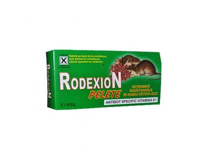 Raticid micropelete pe baza de Bromadiolone pentru deratizare (Rodexion 400gr)