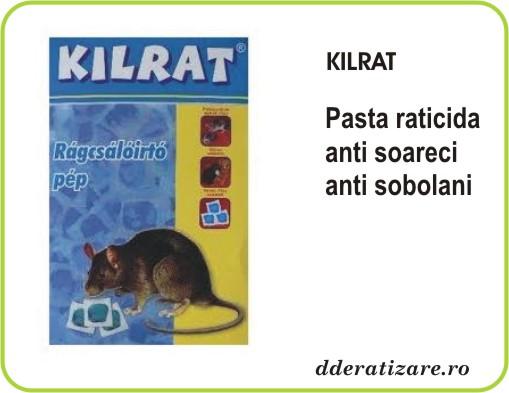 Momeala raticida sub forma de gel Kilrat (200 gr)