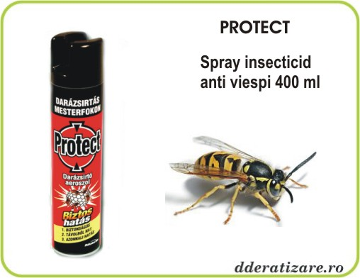 Spray aerosol in combaterea viespilor - Protect