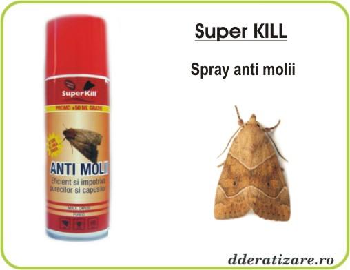 Spray anti molii - Super Kill (200 ml)