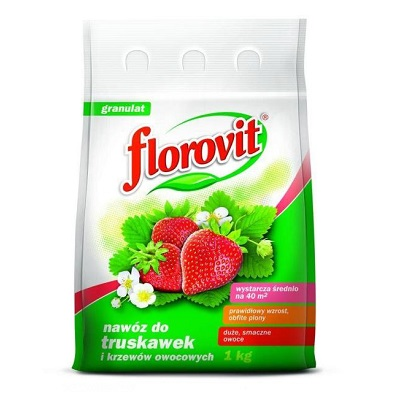 Florovit pentru capsuni, fructe de padure si fragi 1kg