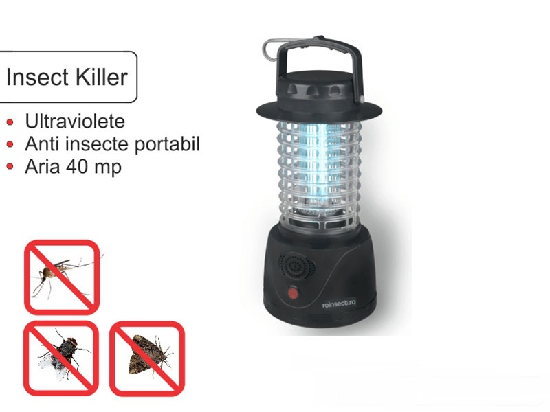 Portable insect killer anti insecte - 40 mp