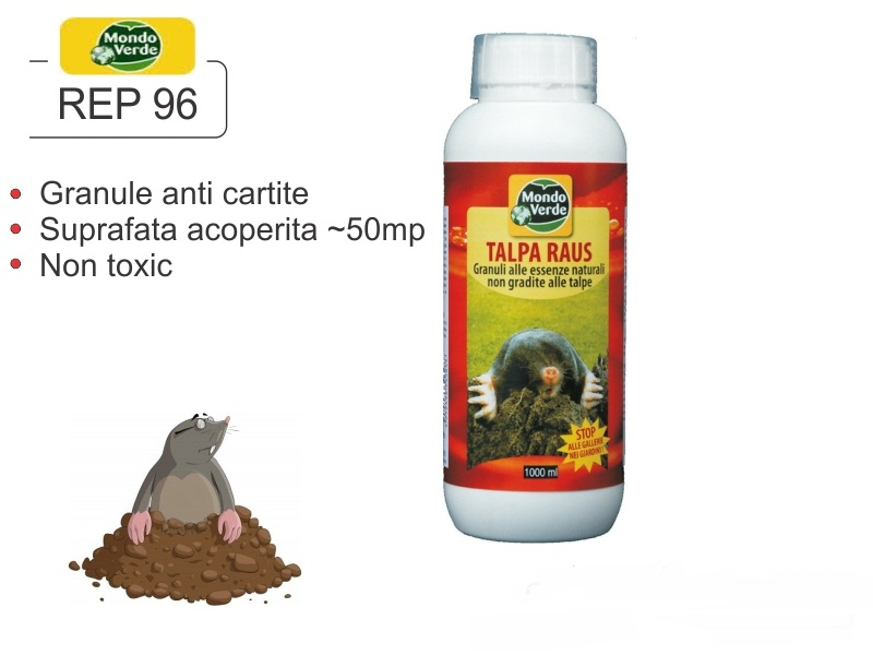 Granule anti cartite, soareci de camp si arici - REP 96