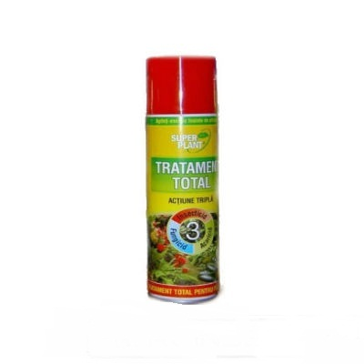 Spray Insecticid Tratament Total pentru plante Super Plant 500ml