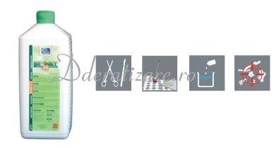 Dezinfectant concentrat pentru suprafete, fungicid, bactericid, virucid, Bionet A15 (1L)