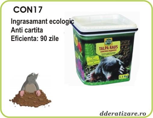 Ingrasamant organic azotat anti cartite si soareci de camp - CON17 (1,2 kg)