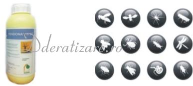 Insecticid ecologic anti tantari, gandaci, purici, molii, muste si alte insecte - Fendona (1L)
