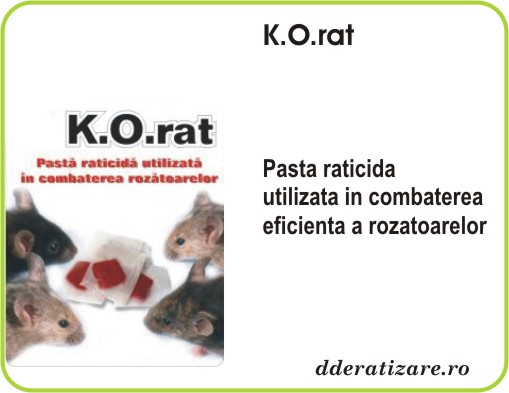 Pasta raticida anti-soareci Rat Total (200gr)