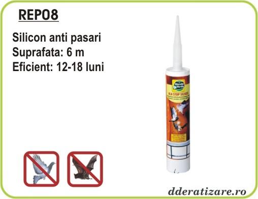 Silicon gel anti pasari si porumbei - REP08 (300 ml)
