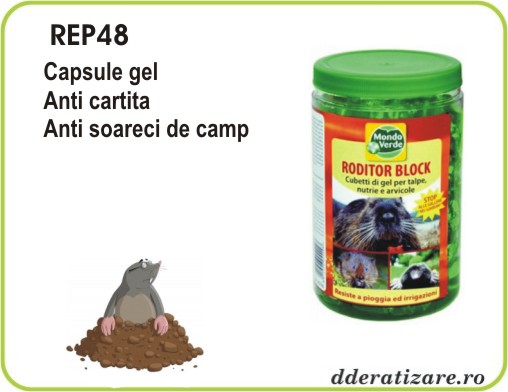 Gel capsule anti cartite, vidre, veverite, soareci rezistent la intemperii - REP48 (1000 ml)