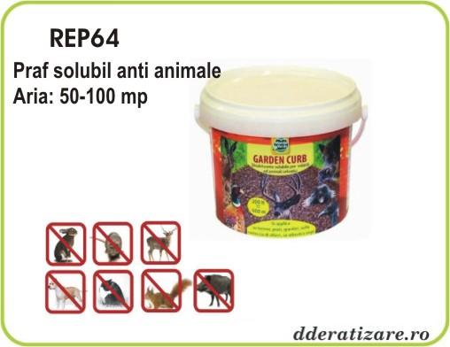 Praf solubil anti caini si pisici - REP 64 (900 gr)