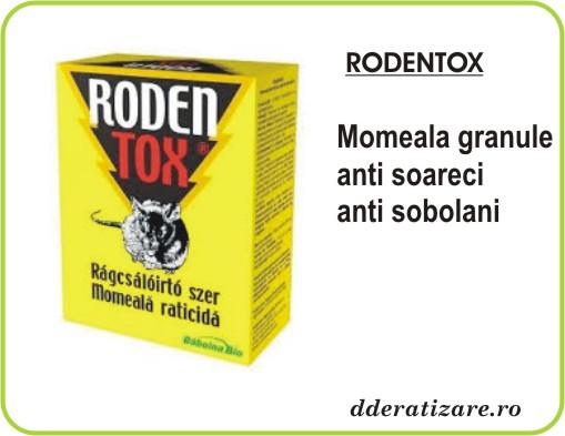 Momeala soareci sub forma de boabe cerealiere - Rodentox (500 gr)