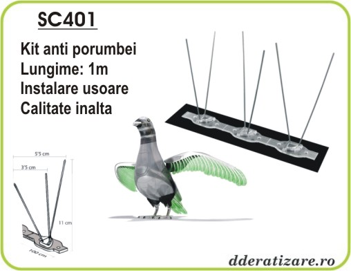 Anti porumbei kit - SC401