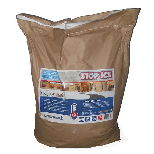 Produs biodegradabil pentru prevenirea si combaterea ghetii (Penguin STOP ICE 25kg)