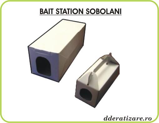 Statii de intoxicare de carton - Bait Station anti sobolani