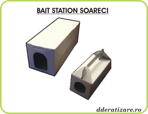 Statii de intoxicare din carton - Bait Station anti soareci