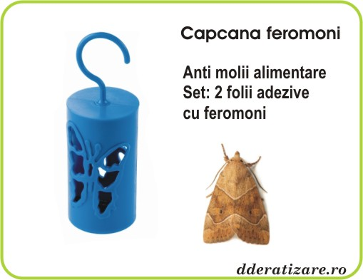 Capcana cu feromoni anti molii alimentare