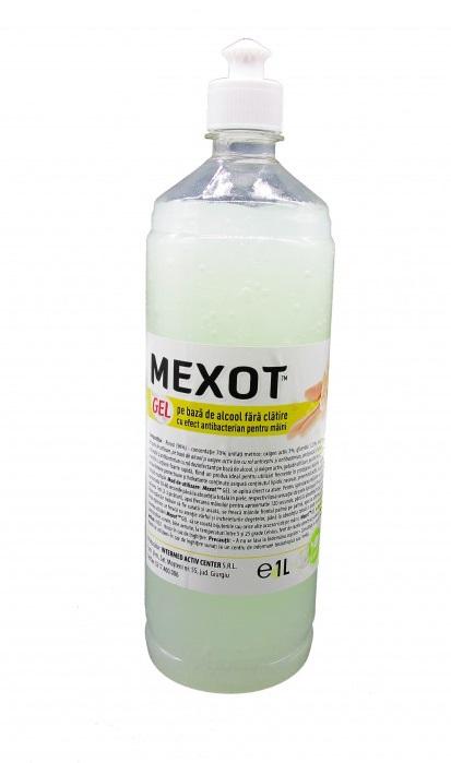 Mexot - Gel Dezinfectant pentru maini cu alcool, 1l